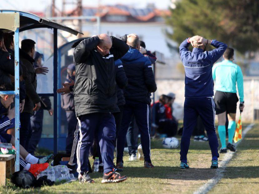 Ο Απόστολος Χατζόπουλος μίλησε για λογαριασμό του τεχνικού επιτελείου του Αιγινιακού μετά το 0-0 με τον ΑΟ Τρίκαλα.