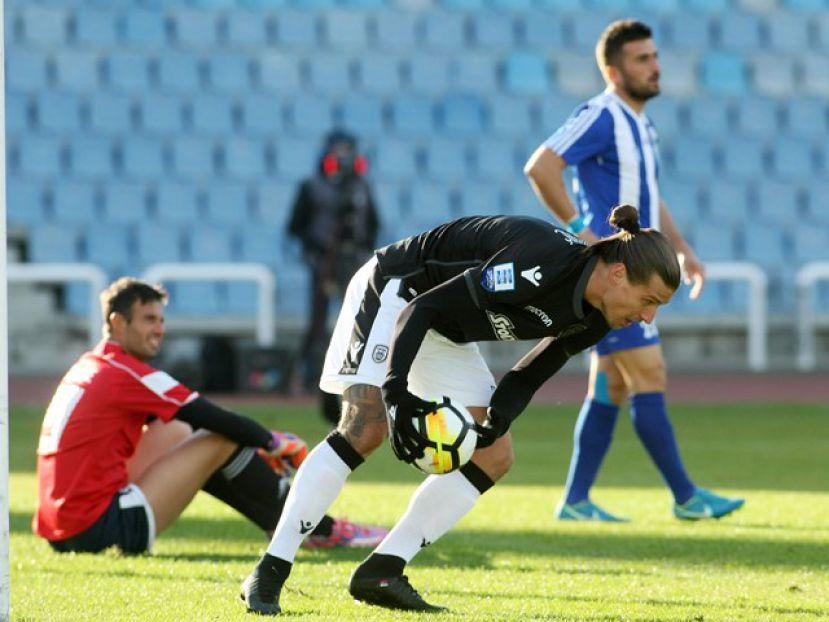 Ο ΠΑΟΚ επικράτησε του Αιγινιακού  με 5-0 για την 3η αγωνιστική των ομίλων του Κυπέλλου Ελλάδος.